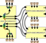 Switching Solutions for WDM-SDM Optical Networks