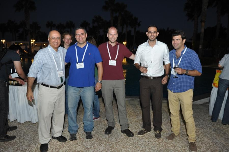 Prof. Shlomo Magdassi, Shay, Isaac, Yousef and Ido