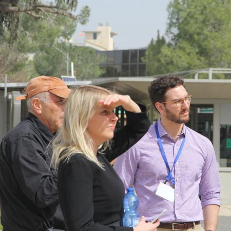 Tour of the Edmond J. Safra Campus, Givat Ram with Prof. Jeff Camhi