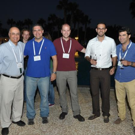 Prof. Shlomo Magdassi, Shay, Isaac, Yousef and Ido