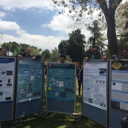 Posters from the group presented at the HUJI faculty day 2016 (funny)