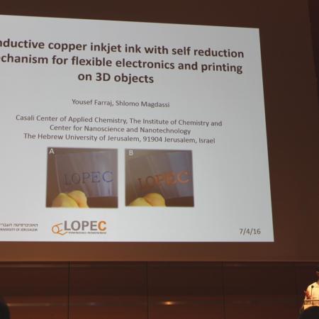 Yousef presenting at LOPEC 2016