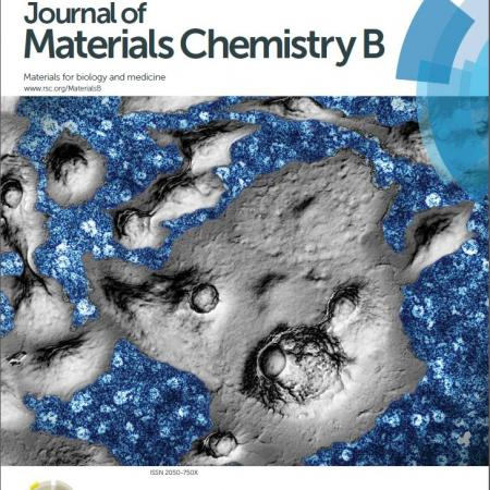 Journal cover in Journal of Materials Chemistry B