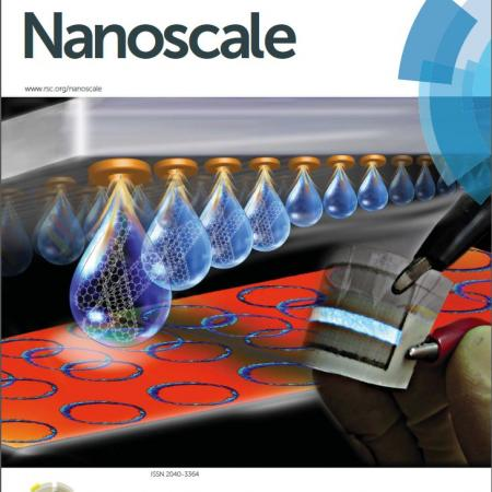 Journal cover in Nanoscale