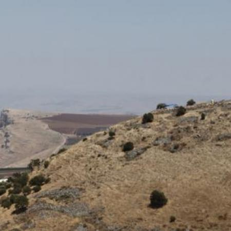 General view of Khirbet el-'Eika (Tal Rogovski)