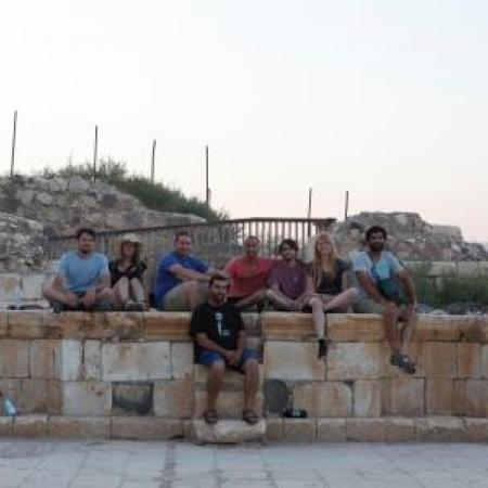 Field trip to the Roman theater in Tiberias (Tal Rogovski)