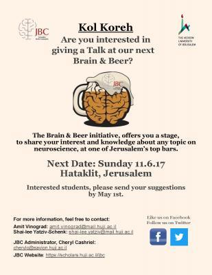 Kol Koreh Brain & Beer