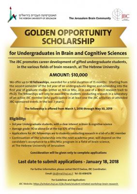 Golden Scholarship