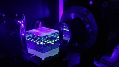 Entangled photons source