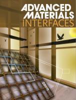 "Cover art for ""Self-Assembly of Perovskite for Fabrication of Semitransparent Perovskite Solar Cells"""