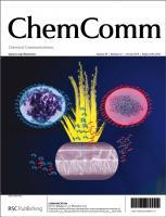 Cover of ChemComm 2013