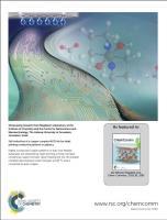 Journal cover ChemComm