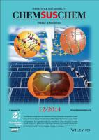 Journal cover chemsuschem 2014