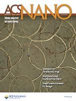 Journal cover ACS nano