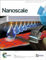 Journal cover nanoscale 2014
