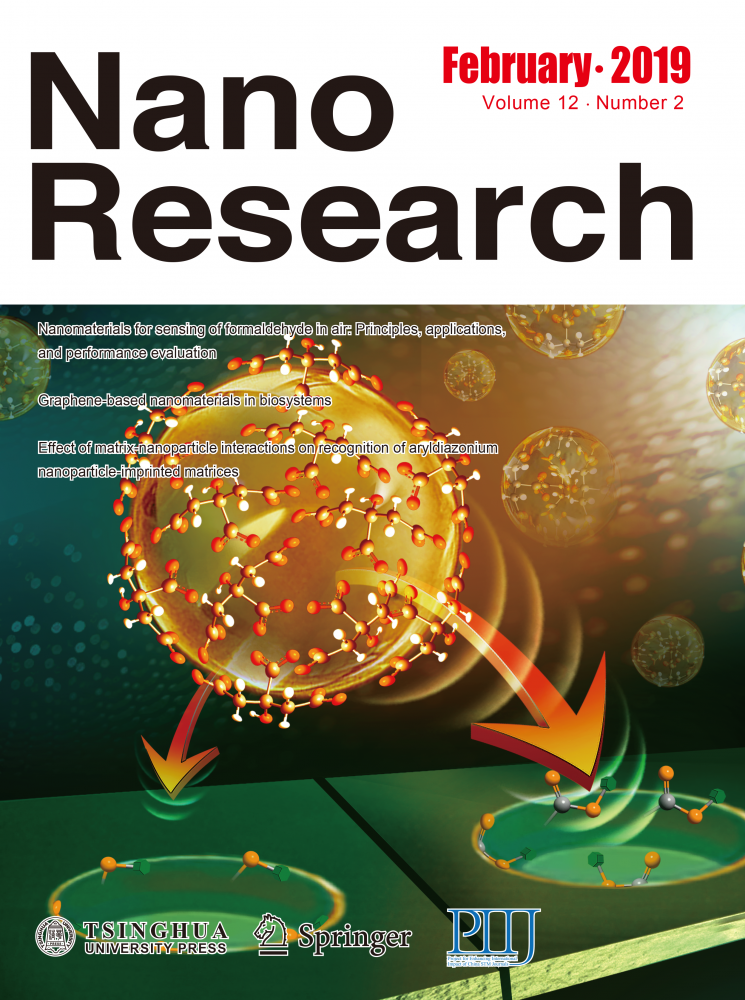Effect of matrix-nanoparticle interactions on recognition of aryldiazonium nanoparticle-imprinted matrices