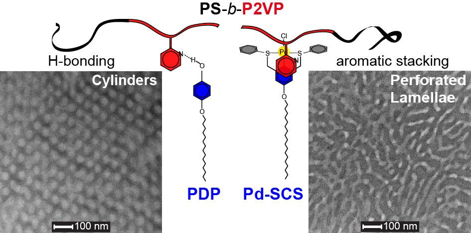 42. hierarchical structures of Pd-pincer-block copolymer system