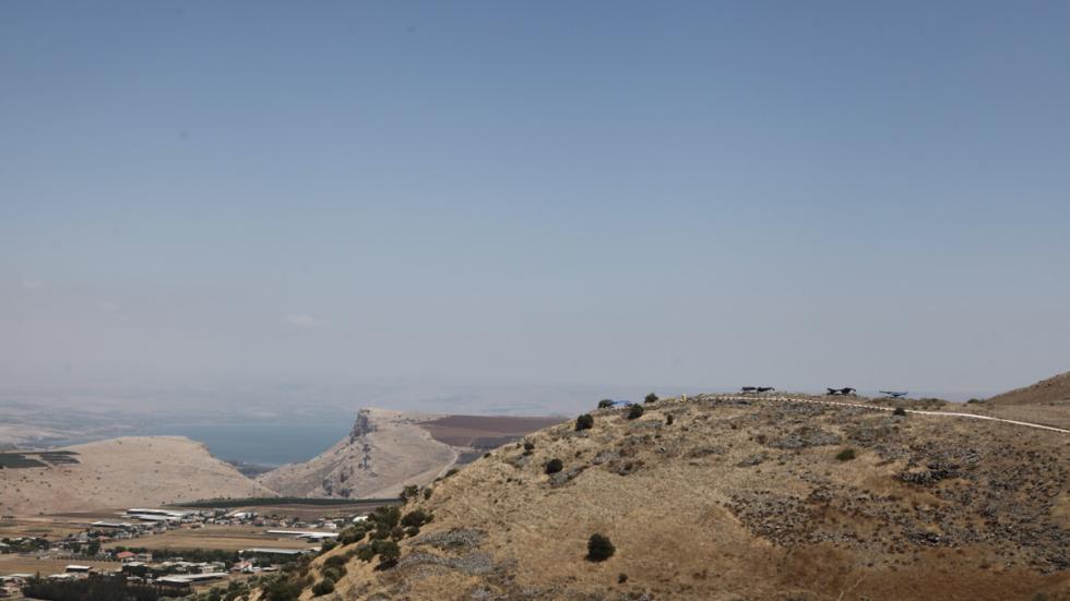 Khirbet el eika hill