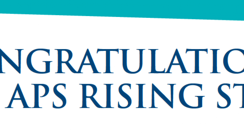 Shir Atzil has been recognised as an APS Rising Star