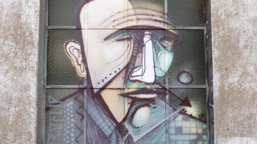 Conradian street art