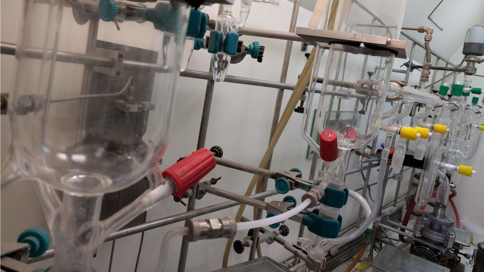 Anionic polymerization line