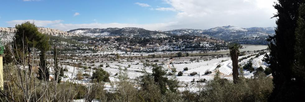Motsa valley in winter