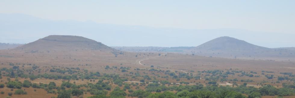 Golan Heights volcanism