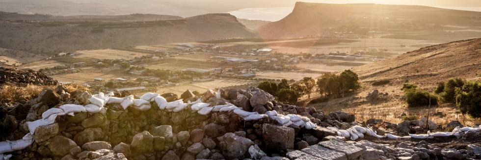 sunrise at Khirbet el 'Eika